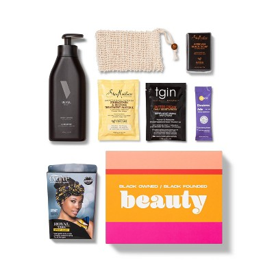 Target Beauty Capsule Black-Owned or Founded Beauty Bath and Body Gift Set - 7ct