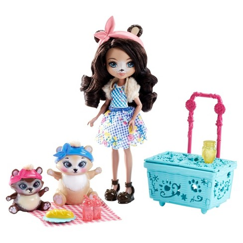 Enchantimals Paws For A Picnic Doll Set - image 1 of 7