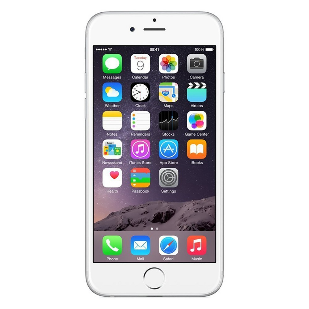 Apple iPhone 6 Pre-Owned (GSM Unlocked) 16GB Smartphone - Silver