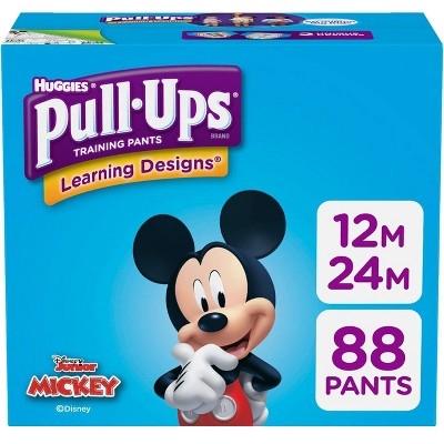 Huggies Pull-Ups Boys' Learning Designs Training Pants Giga Pack - Size 12-24M (88ct)