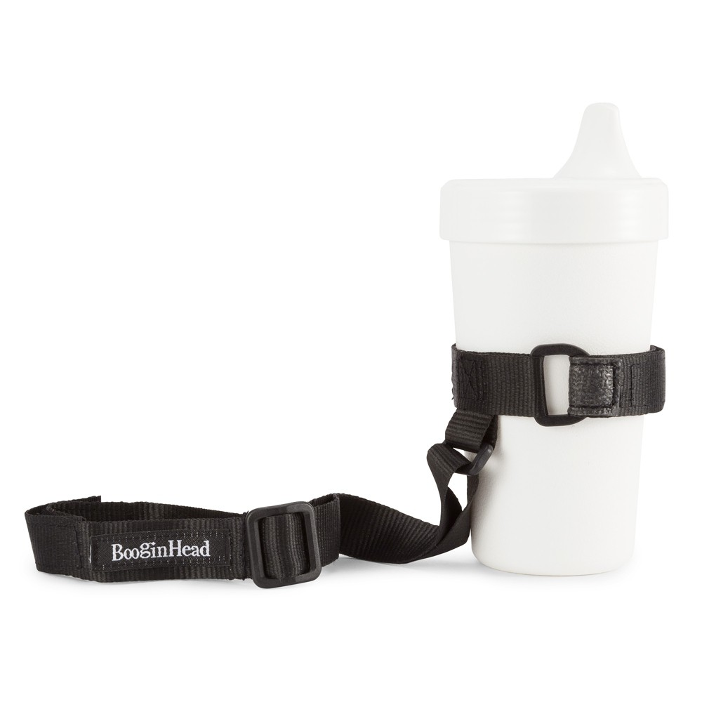 Image of BooginHead SippiGrip Sippy Cup strap Sippy Cup Holder - Black