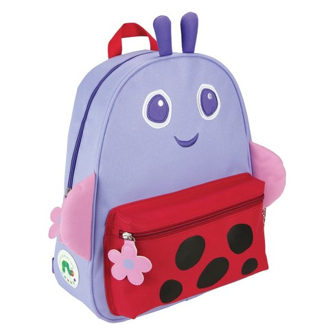 "Eric Carle 13.5"" Kids' Grouchy Lady Bug Backpack - Purple - image 1 of 2"
