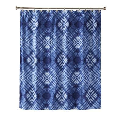 Zarrie Shower Curtain Blue - Saturday Knight Ltd.