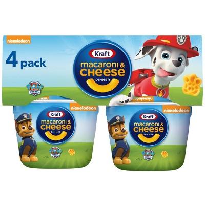 Kraft Paw Patrol Shapes Mac & Cheese Cups - 7.6oz/4ct