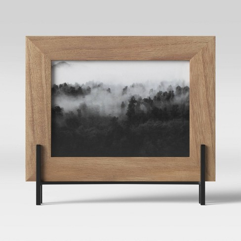 "5"" x 7"" Natural Frame with Stand Brown - Project 62™ - image 1 of 4"