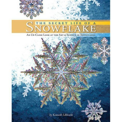The Secret Life of a Snowflake - by  Kenneth George Libbrecht (Hardcover) - image 1 of 1