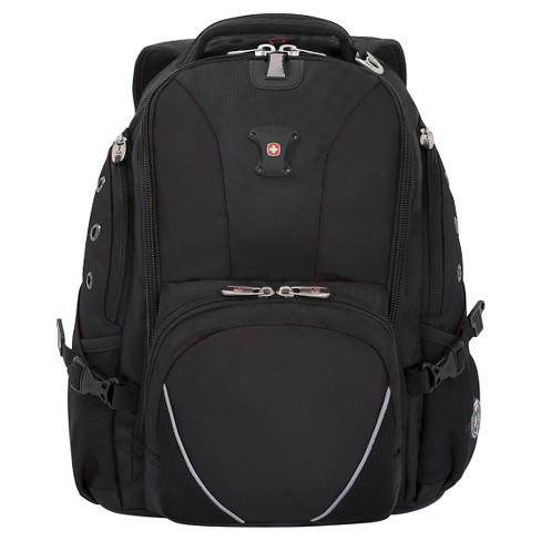 "SWISSGEAR 15"" Backpack - Black - image 1 of 5"