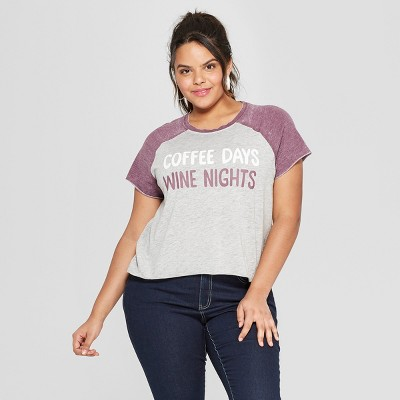 76db5362222 Women s Plus Size Graphic Tees   Target