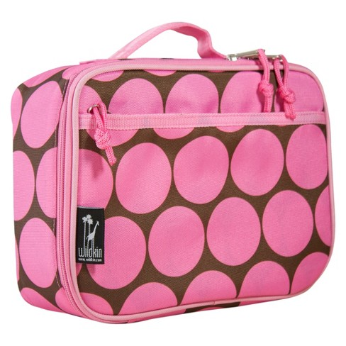 Wildkin Big Dots Lunch Box - Pink - image 1 of 2