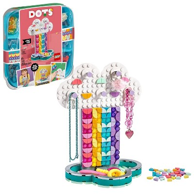 LEGO DOTS Rainbow Jewelry Stand Cool DIY Craft Decorations Toy Kit 41905