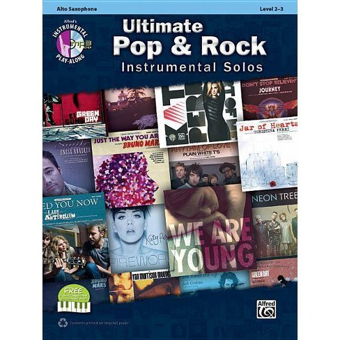 Ultimate Pop & Rock Instrumental Solos - (Ultimate Pop Instrumental Solos) by  Bill Galliford (Mixed media product) - image 1 of 1