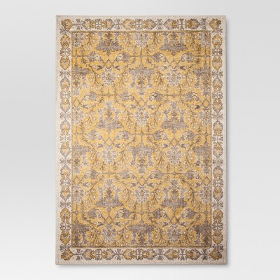 Yellow Ombre Design Tufted Area Rug 7'X10' - Threshold™