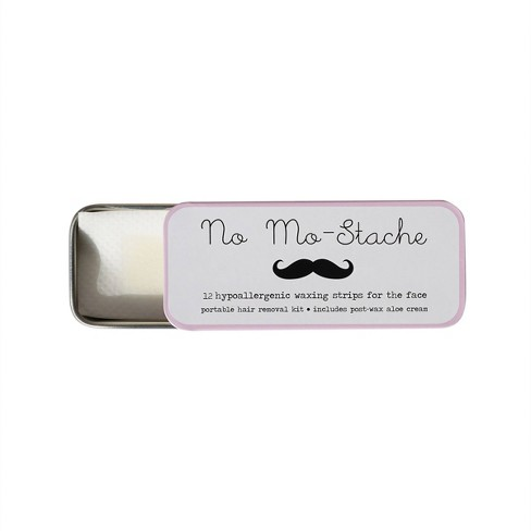 No Mo Stache Lip Wax Trial Size 12ct Target