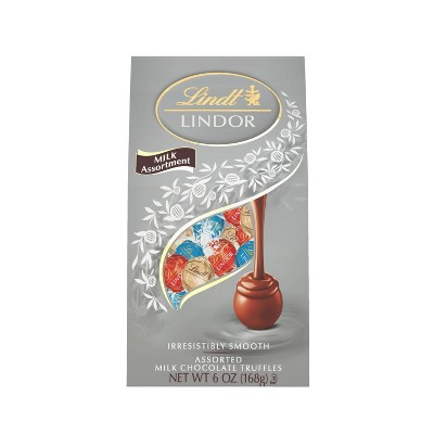 Lindt Lindor Assorted Milk Chocolate Truffles - 6oz