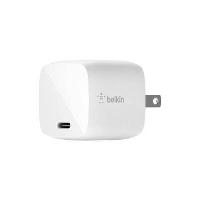 Belkin 2A/30W 1-port USB-C Wall Charger - White