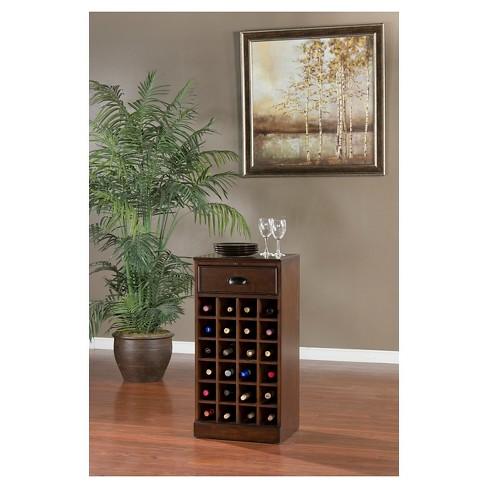 Natalia Modular Wine Storage Cabinet Wood Chestnut American Heritage Target
