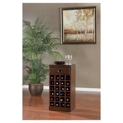 Natalia Modular Wine Storage Cabinet Wood/Chestnut   American Heritage :  Target