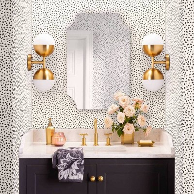 Gold Luxury & Glam Guest Bathroom Collection