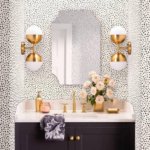 . Rectangle Frameless Decorative Wall Mirror Silver   Threshold