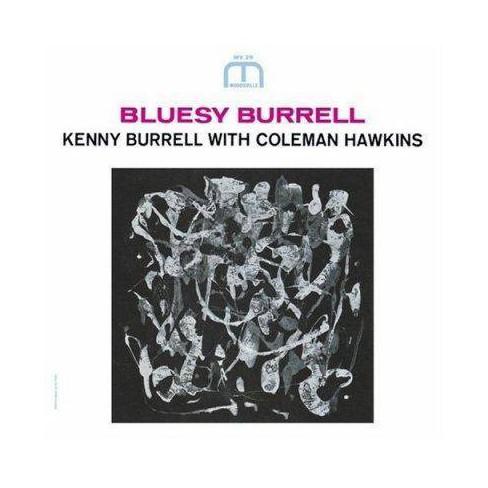 Hawkins - Bluesy Burrell (CD) - image 1 of 1