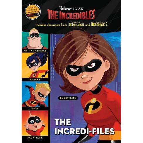 The Incredi-Files (Disney/Pixar the Incredibles 2) - (Hardcover) - image 1 of 1