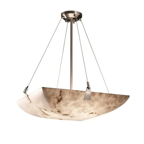"Justice Design Group LumenAria 8 Light 51"" Wide Pendant with Faux Alabaster Resin Shade - image 1 of 1"