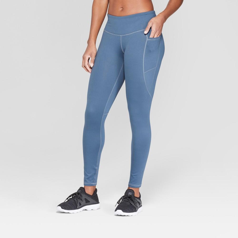 Women's Studio Mid-Rise Leggings - C9 Champion Gray XS