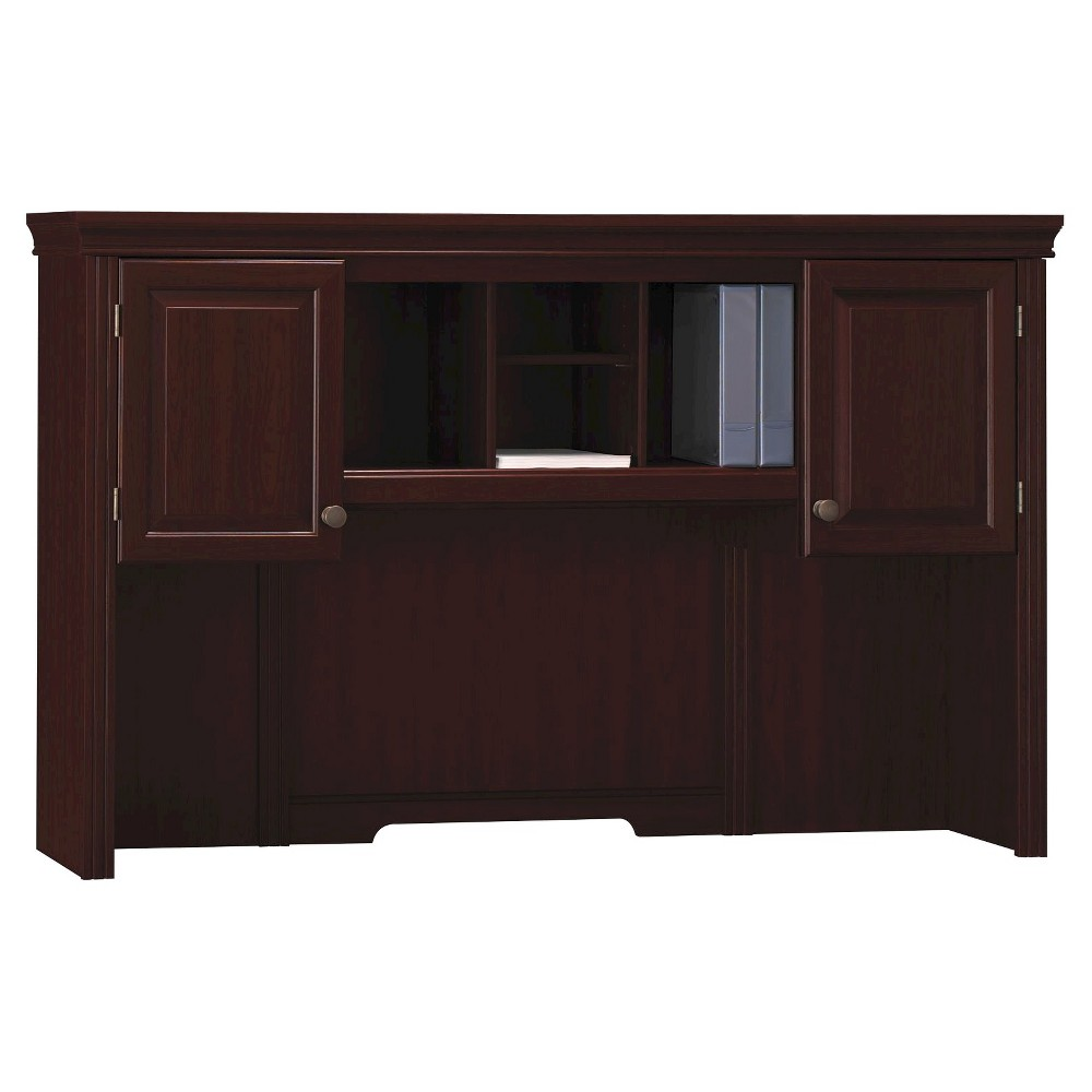 Image of Bennington Hutch from kathy ireland Office by Bush Business Furniture, Red