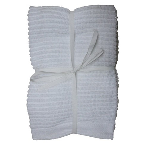 4pk White Bar Mop Kitchen Towels White - Room Essentials™ - image 1 of 1