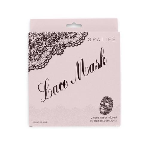 SpaLife Hydrogel Lace Face Mask - 0.81oz - image 1 of 4