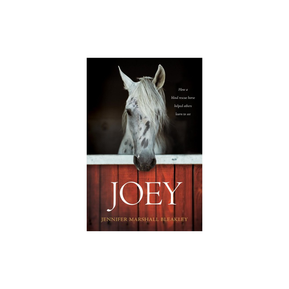 Joey : How a Blind Rescue Horse Helped Others Learn to See - by Jennifer Marshall Bleakley (Paperback)