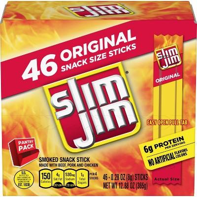 Slim Jim Original Beef Jerky - 12.88oz