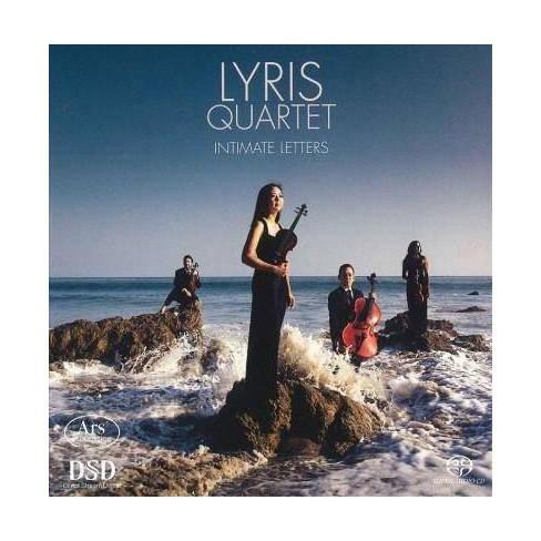 Lyris Quartet - Intimate Letters (CD) - image 1 of 1