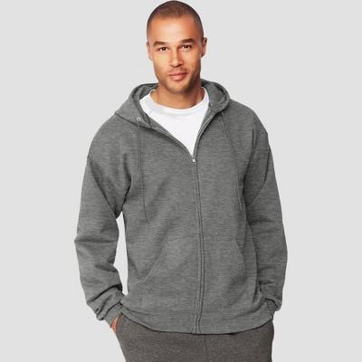 Hanes Men's Ultimate Cotton Full-Zip Hooded Sweatshirt