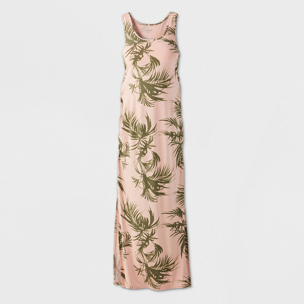 Maternity Printed Sleeveless Essential Knit Dress - Isabel Maternity by Ingrid & Isabel Pink L was $27.99 now $10.0 (64.0% off)