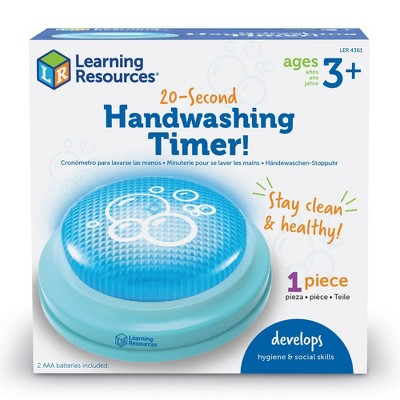 20-Second Handwashing Timer - Learning Resources