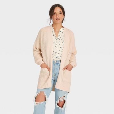 Women's Open-Front Cardigan - Universal Thread™