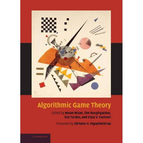 Algorithmic Game Theory - (Hardcover) - image 1 of 1