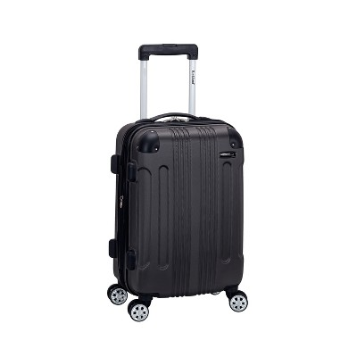 """Rockland Sonic 20"""" Expandable Hardside Carry On Suitcase"""