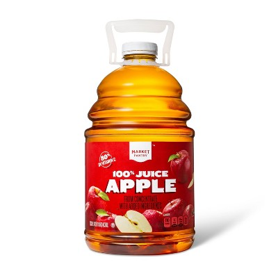 100% Apple Juice - 128 fl oz Bottle - Market Pantry™