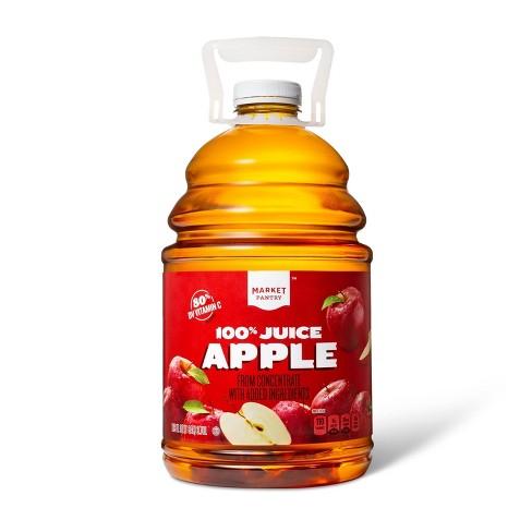 100% Apple Juice - 128 fl oz Bottle - Market Pantry™ - image 1 of 2