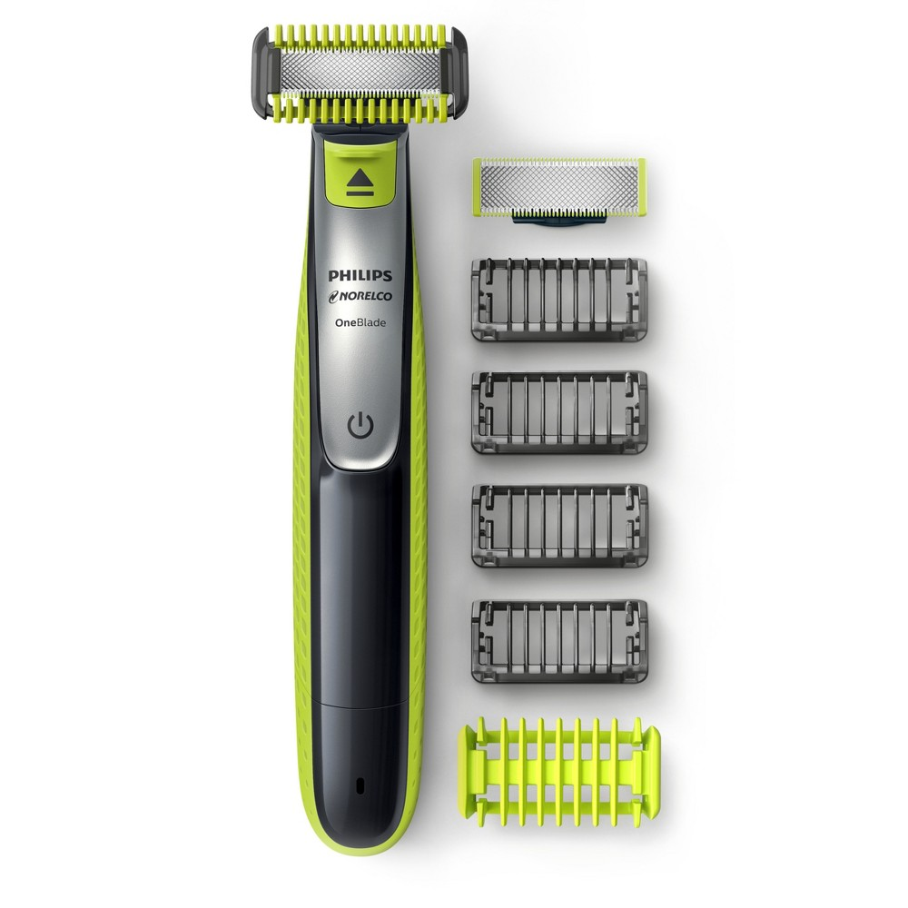 Image of Philips Norelco OneBlade Hybrid Rechargeable Men's Electric Face & Body Trimmer - QP2630/70