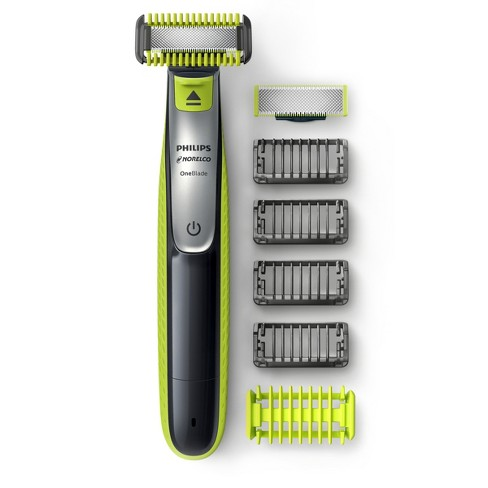 Philips Norelco OneBlade Hybrid Rechargeable Men's Electric Face & Body Trimmer - 10pc - QP2630/70 - image 1 of 4