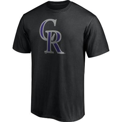 MLB Colorado Rockies Men's Short Sleeve Core T-Shirt