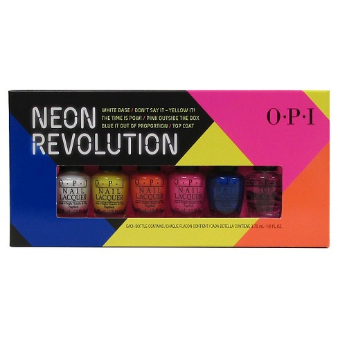 OPI Nail Lacquer Mini Pack Neon Revolution - 6ct - image 1 of 1