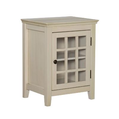 Largo Single Door Cabinet - Linon