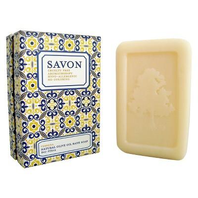 Olivia Care All Natural Olive Oil Bath Bar Soap Verbena - 8 Oz