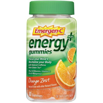 Cold & Flu: Emergen-C Energy Gummies