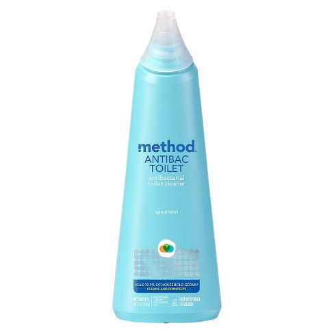Method Cleaning Products Antibacterial Toilet Bowl Cleaner Spearmint 24 Fl Oz Target