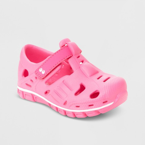 881378f6a Toddler Girls' Surprize By Stride Rite Rider Land & Water Shoes - Pink :  Target